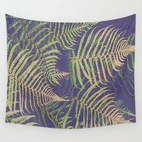 fern Wall Tapestries featuring Fern by 83 Oranges™