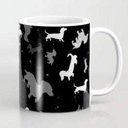 dachshund dog constellation Coffee Mug