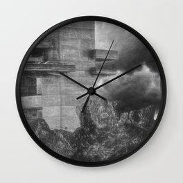 Artistic Tower Wall Clock