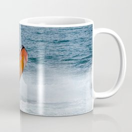 Lifeboat jump Coffee Mug
