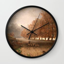 Jules Laurens - Storm Wall Clock