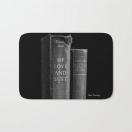 Of Love and Lust - Tale of Two Cities Bath Mat