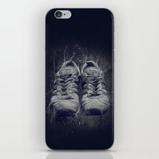 DARK SHOES iPhone & iPod Skin