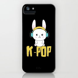 K-Pop Bunny iPhone Case