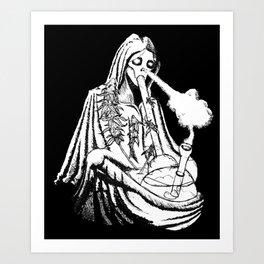 Grim Reefer Art Print