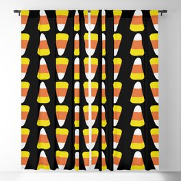 Candy Corn Stripes Blackout Curtain