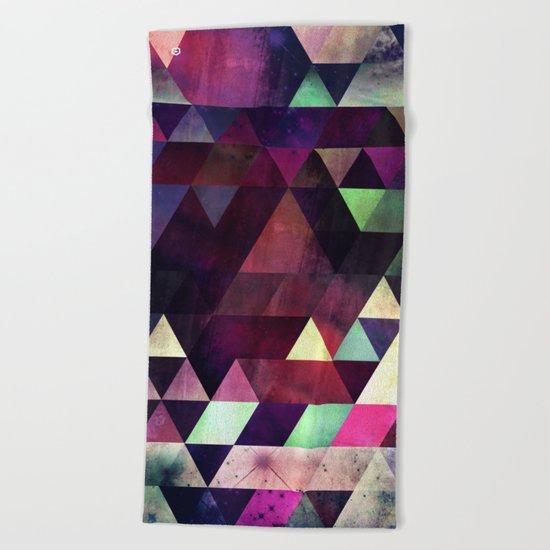 blykk^kyp Beach Towel