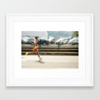 sport Framed Art Prints featuring Sport by Sébastien BOUVIER