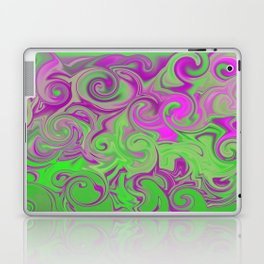 Pink and green  Laptop & iPad Skin