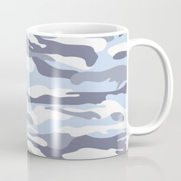 Pastel Blue Dusk Surprise Camo Coffee Mug
