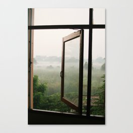 God opens a window Canvas Print
