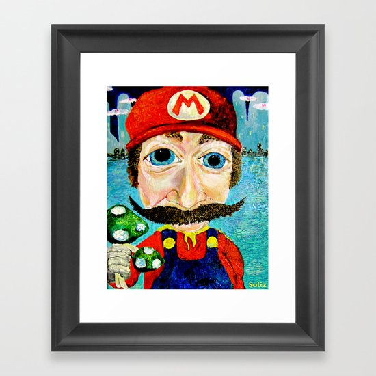 1up Framed Art Print