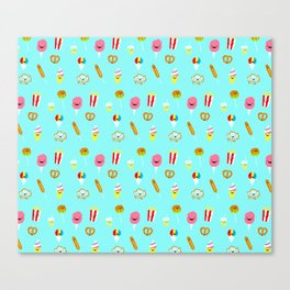 Carnies Pattern Canvas Print