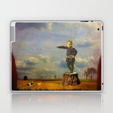 The boy and his mouse Laptop & iPad Skin