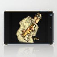 hitchcock iPad Cases featuring Nigel Hitchcock by Lisa Hayden-Miller