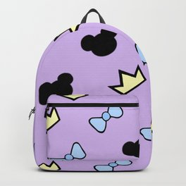 Crowns and bows Backpack