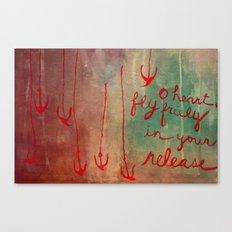 o heart Canvas Print
