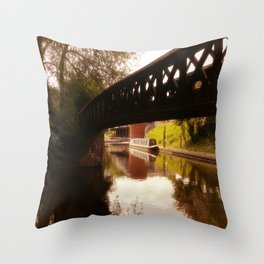 Canal Dreams Throw Pillow