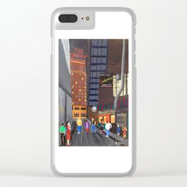 Rendezvous Alley, Memphis Clear iPhone Case
