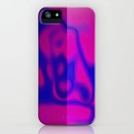 Blue Color Leak iPhone Case