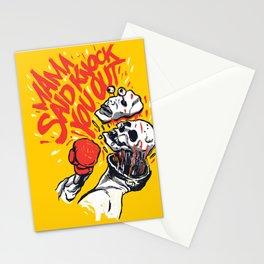 Knockout Punch Stationery Cards