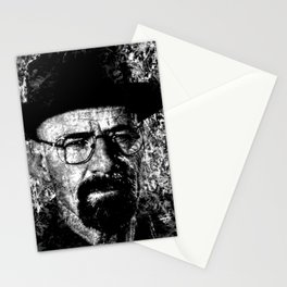 HEISENBERG (BLACK & WHITE VERSION) Stationery Cards