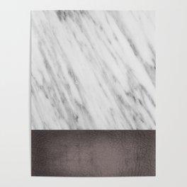 Manly Carrara Italian Marble Poster