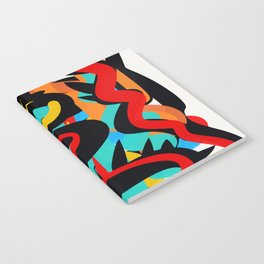 Primitive Abstract Art Street Style Notebook