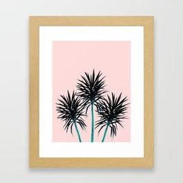 Palm Trees - Cali Summer Vibes #1 #decor #art #society6 Framed Art Print