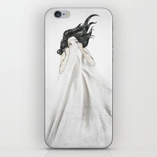 White As A Sheet iPhone & iPod Skin