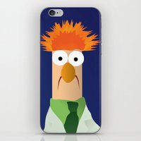 muppets iPhone & iPod Skins featuring Beaker - Muppets Collection by Bryan Vogel