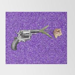FORAL SHOT Throw Blanket
