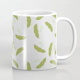 Edamame pattern with a gray background Coffee Mug