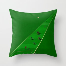 Playing The Long Game Throw Pillow