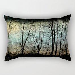 Evening River Rectangular Pillow