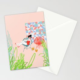Acapulco en la azotea Stationery Cards