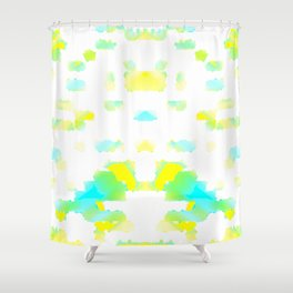 Cellularization Shower Curtain