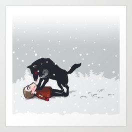 snowtime Art Print