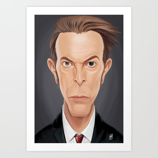 Celebrity Sunday - David (David Robert Jones) Bowie Art Print