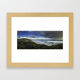 Portsea Scenic Lookout Framed Art Print