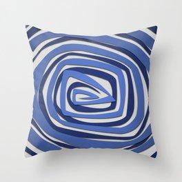 Vortex Spiral Throw Pillow