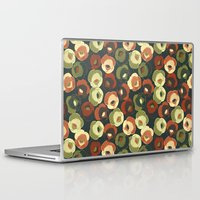 vintage floral Laptop & iPad Skins featuring Vintage floral by kociara