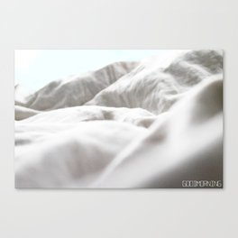 Goodmorning Mint Canvas Print