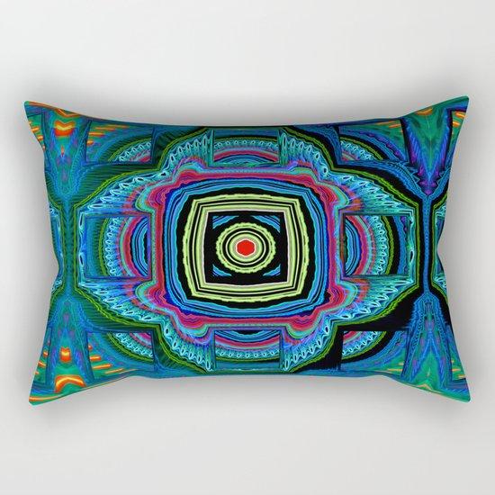 Groovy modern abstract  Rectangular Pillow