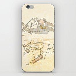 Spy vs. Spy iPhone Skin
