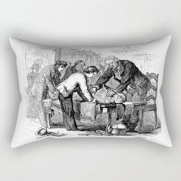 Dr. Crowley's Experiment  Rectangular Pillow