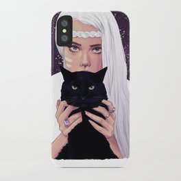 She had Stars in her Eyes iPhone Case