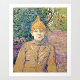 """Henri de Toulouse-Lautrec """"The Streetwalker (Also Known As Casque D'Or)"""" Art Print"""