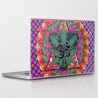 namaste Laptop & iPad Skins featuring namaste by Natasha Marie