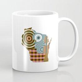 Wisconsin State Map Coffee Mug